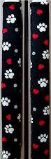 Refrigerator Oven Door Padded Handle Covers Paw Prints Set of Two