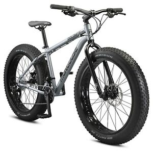 Mongoose Dolomite ALX fat tire mountain bike, 16 speeds, small frame, grey