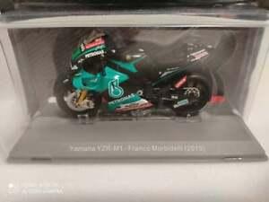 Yamaha YZR-M1 Franco Morbidelli 2019 1/18 Colección MotoGP