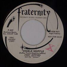 JIMMY JEFFERS & THE JOKERS: Double Shuffle US Fraternity Rockabilly 45