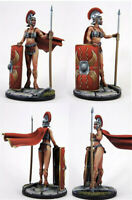 1/35 Ancient Female Warrior Resin Kits Unpainted Figure Model GK