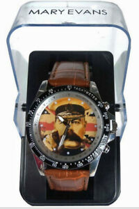 Get Brexit Done - Your Country Needs You Wristwatch in a Gift Box Patriotic