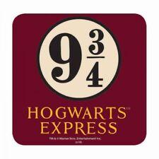 HARRY POTTER HOGWARTS EXPRESS PLATFORM 9 3/4 TABLE DRINKS COASTER MAT