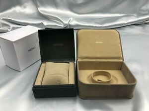 Genuine SEIKO empty watch box 2set case Authentic 1116005 P133N