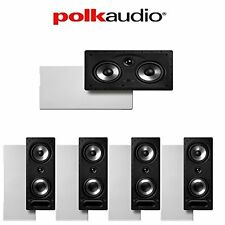 Polk Audio 265-RT + Polk Audio 255C-RT 5.0 Vanishing Series In-Wall Home Theater