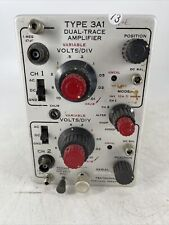 Tektronix Type 3a1 Dual Trace Amplifier Parts Or Repair
