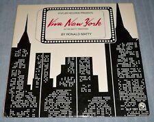 RONALD MATTY Viva New York LP (Statler) (Annie Medley, Marty Feldman Two Step)