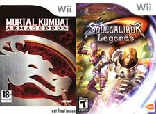 Mortal Kombat Armageddon & Soul Calibur Legends Wii PAL