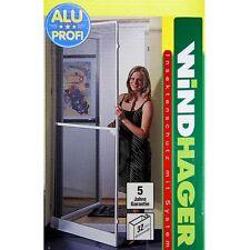 Windhager Alu Profi Insektenschutz Tür 120x240cm braun Fliegengitter 03725