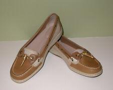 NIB Sperry Top-Sider Dunefish Linen Boat Shoes Womens Sz 8 M