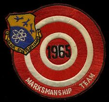 USAF 26th Air Division (SAGE) 1965 Marks Manship Team Patch S-11
