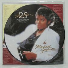 MICHAEL JACKSON - THRILLER LP 25TH ANNIVERSARY EDIT PICTURE DISC VINYL NM PRINCE
