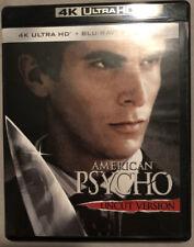 American Psycho 4K Ultra Hd & Blu-Ray (No Digital)