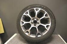 """1 nagelneue Original Original Fiat 500l 17"""" Alufelge mit Reifen Diamant & grau"""
