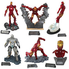 6x EZHOBI TOYS IRONMAN Iron Man 7cm-13cm PVC Figure Set New In Box