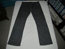 "Levi's Men's 514 Slim Straight Gray Denim Jeans Size Waist 36"" Inseam 32"""