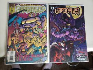 GARGOYLES # 1 NM/NM+ Both Marvel + SLG Titles Rare Disney+