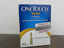 One Touch Verio Test Strips  Pack of 100 Strips JULY 2021