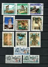LEBANON LIBAN COLLECTION USED SET & STAMPS  LOT (LEB  1114)