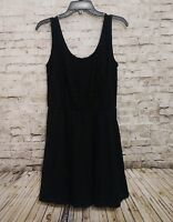 Cotton On Women's Dress Black Lace A-line Sleeveless Stretch Size Large Comfy