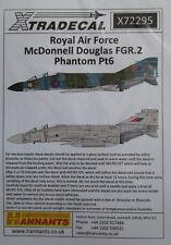 Xtradecal 1/72 X72295 RAF Phantom FG.1/FGR.2  Pt 6  decal set