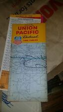 Vintage 1963 Union Pacific Railroad Time Table Nice Free ship