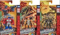 Transformers War for Cybertron Core Class Optimus Prime Rattrap Vertebreak NEW