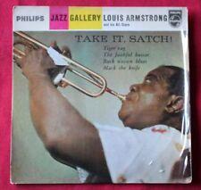 Disques vinyles Louis Armstrong 17 cm