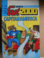 Raccolta Eroi 2000 Capitan America  n°19 1977 (36-37-38) Edizione Corno  [G339]