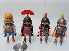 PLAYMOBIL FIGURAS LOTE CENTURIONES CENTURION TRIBUNOS ROMANO ROMAN ROMANOS