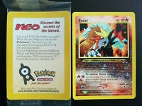 Pokemon Entei 34 Black Star Promo  sealed Englisch NM/Mint