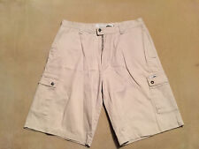 "Mens No Fear Cargo Shorts Size 36"" Waist, 12"" Inseam Good Condition"