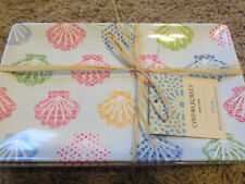 8pc CYNTHIA ROWLEY Melamine Pineapple Set 6 Appetizer Snack Plate 2 Serving Tray