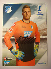 Autogrammkarte Oliver Baumann,TSG 1899 Hoffenheim 2014/2015, SC Freiburg