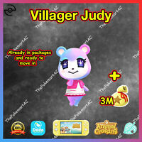 Animal Crossing New Horizons| Villager Judy | Bewohner Misuzu |