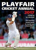 Playfair Cricket Annual 2017 by Marshall, Ian, Acceptable Used Book (Paperback)