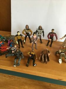 Star Trek Action Figures Playmates 1990s Collection Job Lot