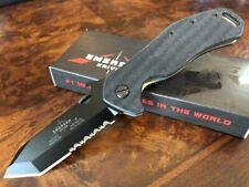 Emerson Knife Bulldog BTS Black Serrated Edge Made in USA Prestige Dealer