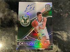 2019-20 Spectra Basketball Ersan Ilyasova Catalysts Signatures /49 Bucks Auto