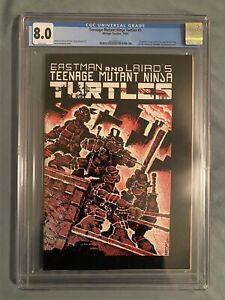 Teenage Mutant Ninja Turtles #1 (1984, Mirage) / 1st Print CGC 8.0 WHITE PAGES!