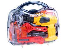Conjunto de herramientas de niños de herramientas Case En Caja Regalo Presente Niño 10 Accesorios
