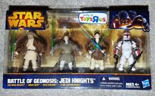 STAR WARS BATTLE OF GEONOSIS: JEDI KNIGHTS SET 2013 ToysRUs exclusive