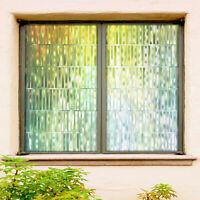 3D Grüne Fluoreszenz ZHUC73 Fenster Film Drucken Aufkleber Haftendes Buntglas UV