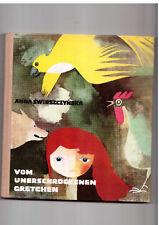 Anna Świrszczyńska Vom Unerschrockenen Gretchen 1972 Polish book for children