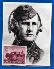 Third 3rd Reich Post Office 1944 Nazi Germany Panzer Tank stamp Mnh * G