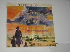 33 rpm THE FONTAINE SISTERS sweet hour of prayer(red)DOT 25294 nice SEE PICS