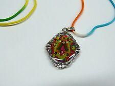 Pack of Cartoon Virgin Medal w color cord/Medalla de la Virgencita Plis c cordon
