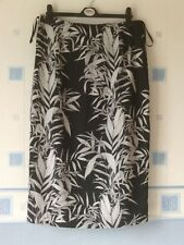 LADIES SKIRT BLACK/GREY  MIX SIZE 12   *WALLIS *
