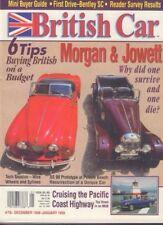 British Car Magazine Morgan & Jowett On A Budget Dec/January 1999 011818nonr