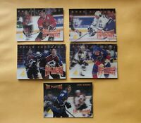 1995-96 McDonald's Pinnacle Hull /  Gilmour / Forsberg a Lot of 5 Cards